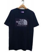 THE NORTH FACE PURPLE LABEL(ザノースフェイス パープルレーベル)の古着「H/S Logo Tee」|ネイビー