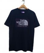 THE NORTH FACE PURPLE LABEL(ノースフェイスパープルレーベル)の古着「H/S Logo Tee」|ネイビー