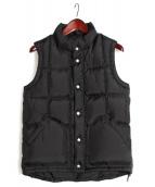 MOUNTAIN RESEARCH(マウンテンリサーチ)の古着「Puff Vest」|ブラック