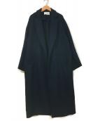 ENFOLD(エンフォルド)の古着「トップリバーチェスターコート」|ネイビー