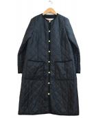 Traditional Weatherwear(トラディショナル ウェザーウェア)の古着「裏ボアロングキルティングコート」|ブラック