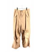 BEAMS BOY(ビームスボーイ)の古着「US ARMYオーバーパンツ」|ベージュ