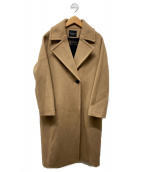 VERMEIL par iena(ヴェルメイユ パーイエナ)の古着「MANTECOウールコート」|ベージュ