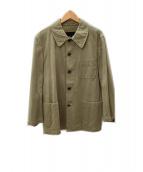 ()の古着「カバーオール」|ベージュ