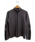 PRADA SPORTS(プラダスポーツ)の古着「ニットジャケット」|グレー