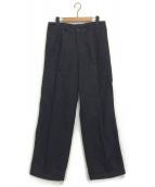 COMME des GARCONS SHIRT(コムデギャルソンシャツ)の古着「ウールファティーグパンツ」|グレー