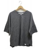 WHITE MOUNTAINEERING(ホワイトマウンテニアリング)の古着「ストレッチポンチTシャツ」|グレー