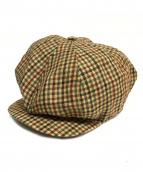NIGEL CABOURN(ナイジェルケーボン)の古着「NC HNTNG CAP O/C 」|ベージュ