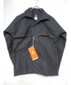 POST OALLS(ポストオーバーオールズ)の古着「POST LOGGER C/N」 ブラック