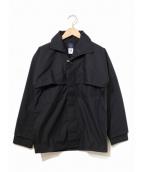 POST OALLS(ポストオーバーオールズ)の古着「ワークジャケット」 ブラック