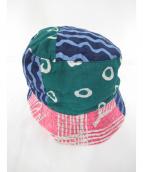 Engineered Garments(エンジニアードガーメン)の古着「EG Imp/Bukt Hat」 ネイビー