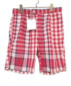 Engineered Garments(エンジニアードガーメン)の古着「EG SNST/SH BPMD」|レッド