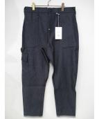 Atelier&Repairs(アトリエ&リペアーズ)の古着「A&R CARGO U/PNT」|ネイビー
