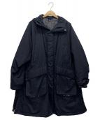 KAPTAIN SUNSHINE(キャプテンサンシャイン)の古着「パディングフィールドパーカー」|ネイビー