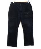 Engineered Garments(エンジニアードガーメン)の古着「コーデュロイブッシュパンツ」|ネイビー