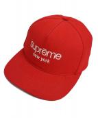 Supreme(シュプリーム)の古着「キャップ」 レッド