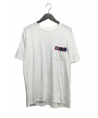 VISVIM(ヴィスヴィム)の古着「ポケットTシャツ」|ホワイト
