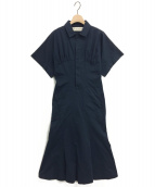 THE SHINZONE(ザ シンゾーン)の古着「ツイルカットソードレス」|ネイビー