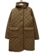 MACKINTOSH(マッキントッシュ)の古着「裏ボアフーデッドキルティングコート」|ベージュ