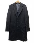 GIORGIO ARMANI(ジョルジオアルマーニ)の古着「カシミヤチェスターコート」|ブラック