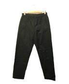 MHL(エムエイチエル)の古着「ウールコットンドロストパンツ」 ブラック