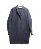 HARRIS WHARF LONDON(ハリスワーフロンドン)の古着「チェスターコート」|ネイビー