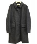 MARNI(マルニ)の古着「ステンカラーコート」|チャコールグレー