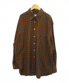 BRIONI(ブリオーニ)の古着「チェックネルシャツ」