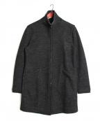 D.HYGEN(ディーハイゲン)の古着「ジップアップコート」 ブラック