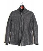 D.HYGEN(ディーハイゲン)の古着「レザージャケット」|ブラック