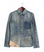ISAMU KATAYAMA BACKLASH(イサムカタヤマ バックラッシュ)の古着「デニムシャツ」|インディゴ