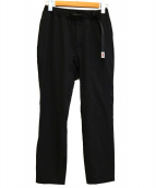 New Balance × GRAMICCI(ニューバランス × グラミチ)の古着「ストレッチクライミングパンツ」|ブラック