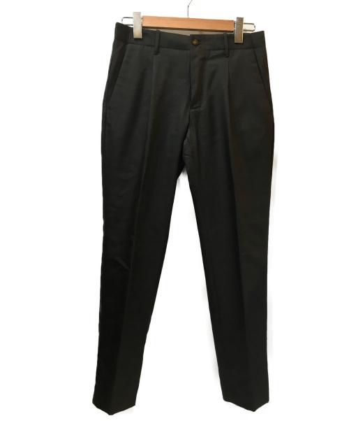 giabs ARCHIVIO(ジャブス アルキヴィオ)giabs ARCHIVIO (ジャブス アルキヴィオ) マサッチョシャカウールクリースパンツ カーキ サイズ:44 A8132 MASACCIOの古着・服飾アイテム