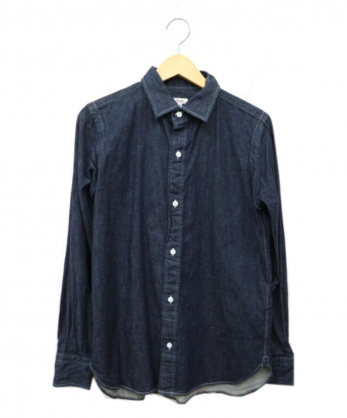 SCYE(サイ)Scye (サイ) デニムシャツ インディゴ サイズ:40 日本製の古着・服飾アイテム