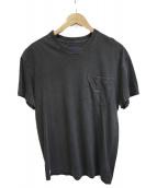 DESCENDANT(ディセンダント)の古着「ポケットTシャツ」|ブラック