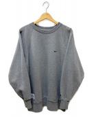 DESCENDANT(ディセンダント)の古着「PE CREW NECK SWEAT SHIRT」|グレー