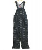 Supreme(シュプリーム)の古着「ロゴデニムオーバーオール」|ブラック