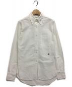 MADISON BLUE(マディソンブルー)の古着「メッセージBDシャツ」|ホワイト