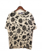 JUNYA WATANABE COMME des GARCON MAN(ジュンヤワタナベ コムデギャルソンマン)の古着「花柄Tシャツ」|オフホワイト