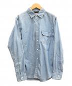 THE NORTHFACE PURPLELABEL(ザノースフェイスパープルレーベル)の古着「シャンブレーシャツ」
