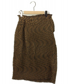ISSEY MIYAKE(イッセイミヤケ)の古着「ウェーブプリーツスカート」