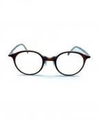 白山眼鏡店(ハクサンガンキョウテン)の古着「伊達眼鏡」 ブラウン