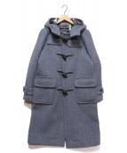 LONDON Tradition(ロンドントラディション)の古着「ロングダッフルコート」|ブルー
