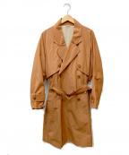 UMIT BENAN(ウミットベナン)の古着「オーバーサイズトレンチコート」|ブラウン
