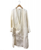 KAPITAL(キャピタル)の古着「リネンワイナリーコート」 ベージュ