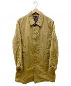 SONTAKU(ソンタク)の古着「ライナー付ステンカラーコート」 カーキ