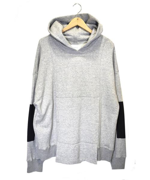 ANITYA(アニティア)ANITYA (アニティア) 狩衣フーディ グレー サイズ:1 未使用品 KARIGINU HOODIE 定価¥25,000+税の古着・服飾アイテム