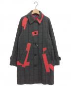KOLOR(カラー)の古着「PATCHWORK COAT」|グレー