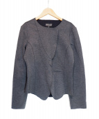 EMPORIO ARMANI(エンポリオアルマーニ)の古着「ボンディングジャケット」|グレー