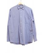 COMOLI(コモリ)の古着「シャツ」 ブルー